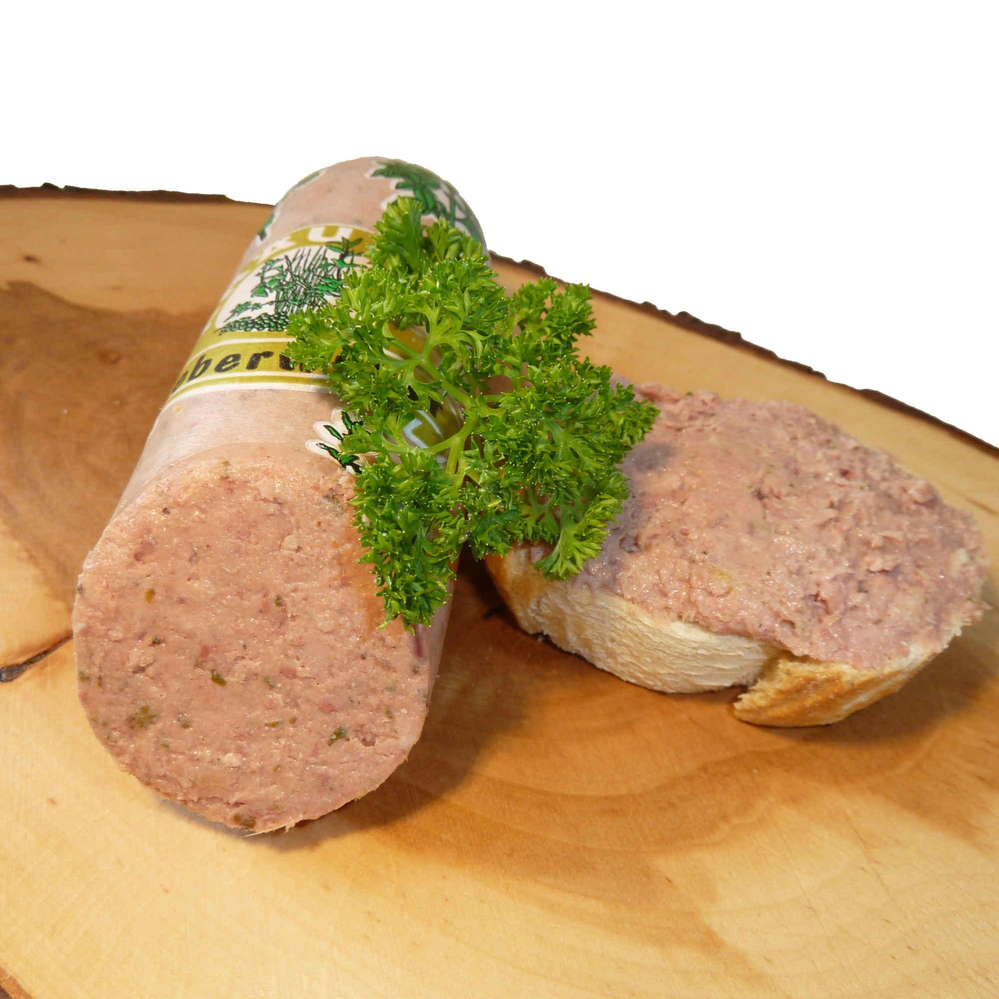 Puten Kräuterleberwurst