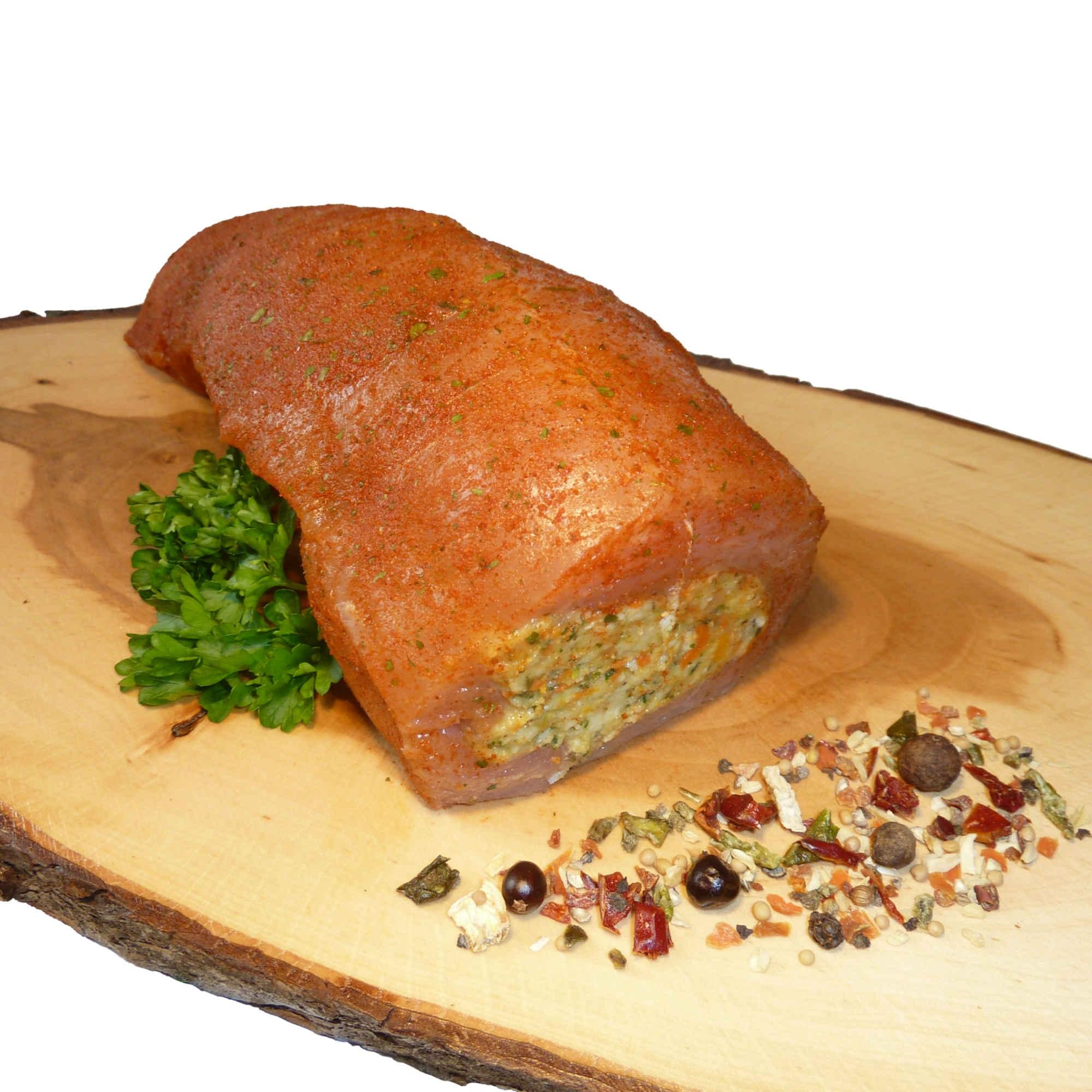 Puten-Brustfilet gefüllt (Gemüse)