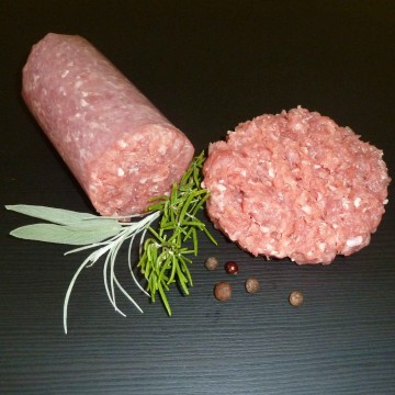 Putenhackbraten / Putenhackfleisch