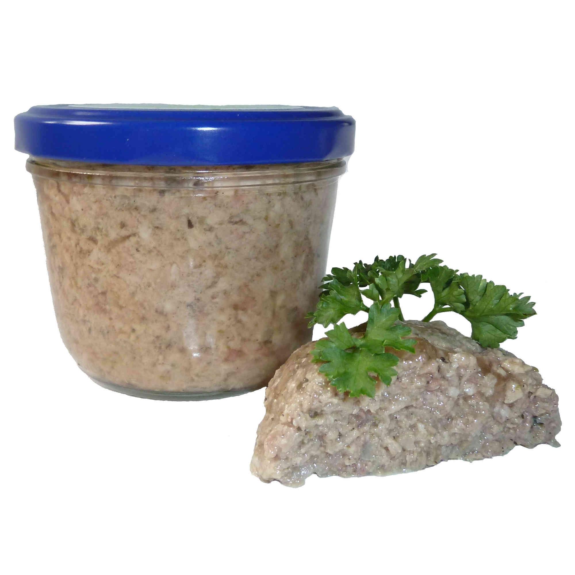 Puten Leberwurst grob (Glas)