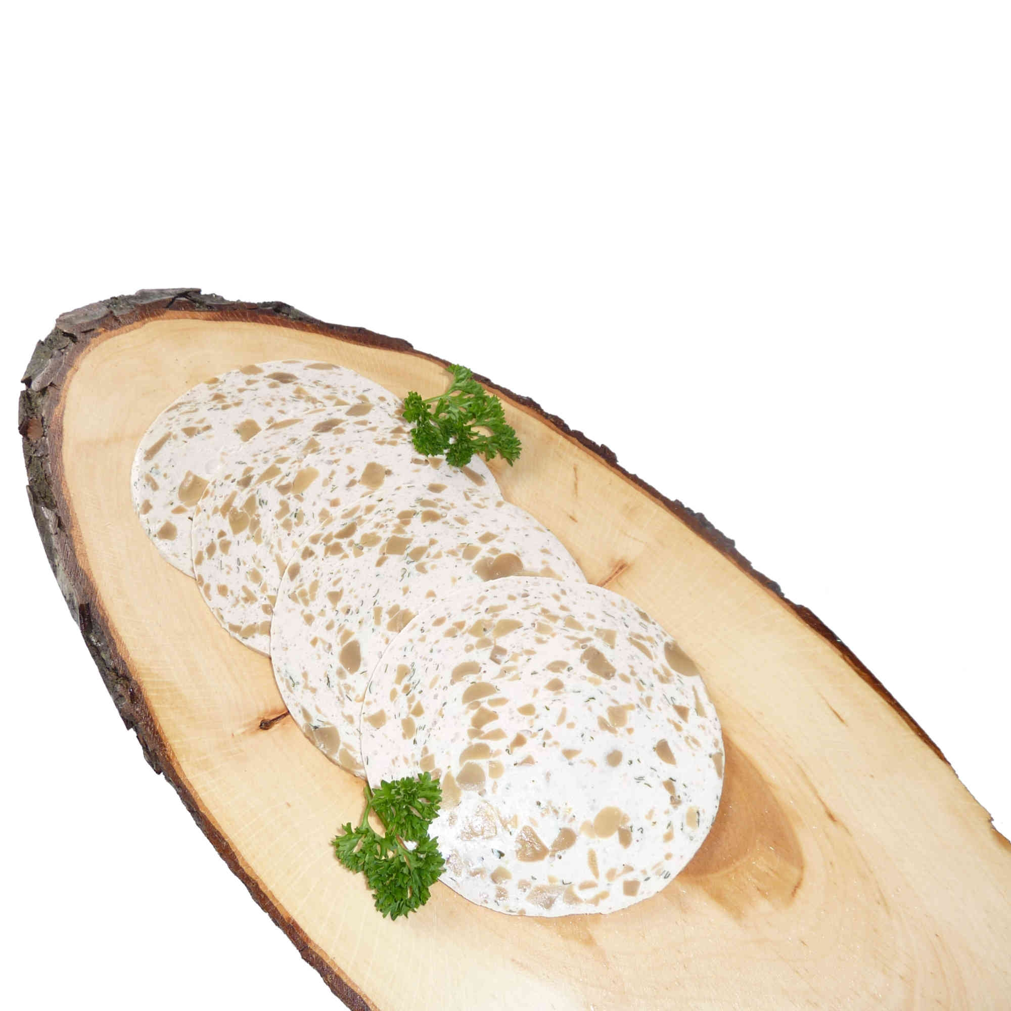 Puten Pilzwurst