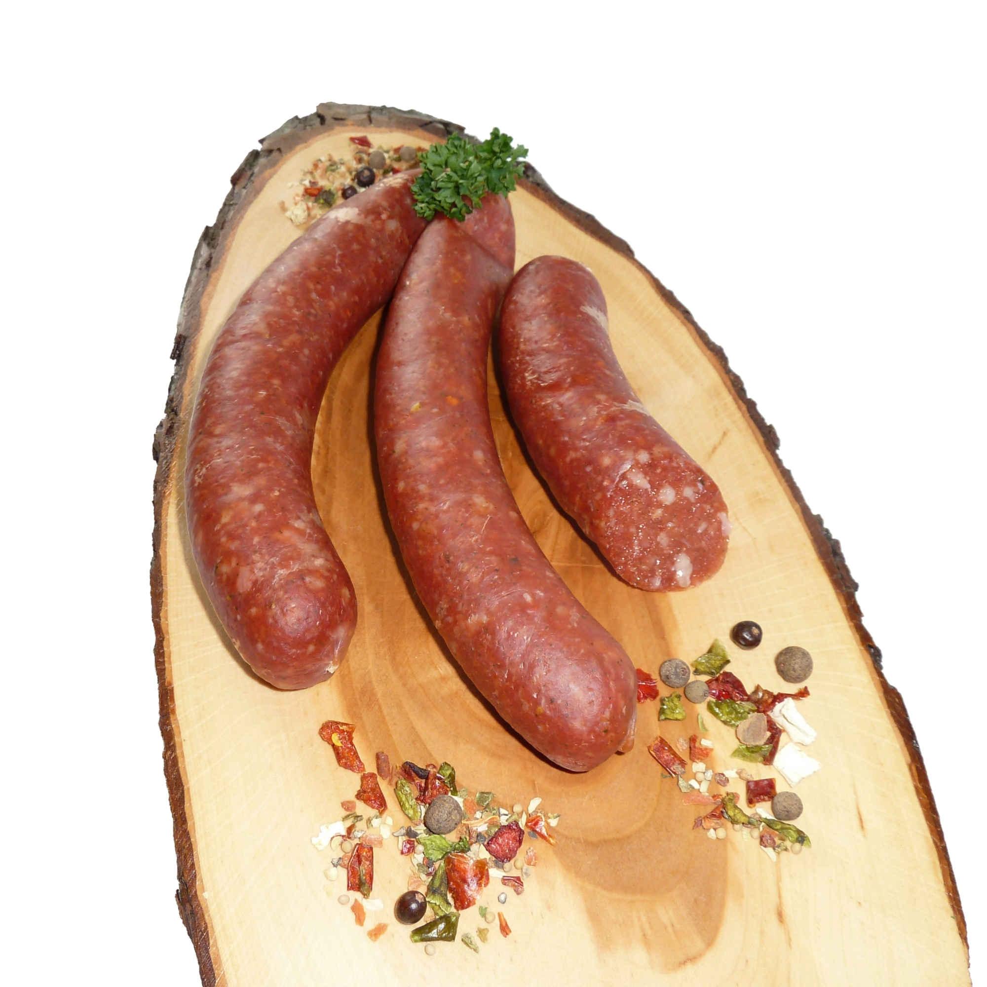Puten Banatwurst