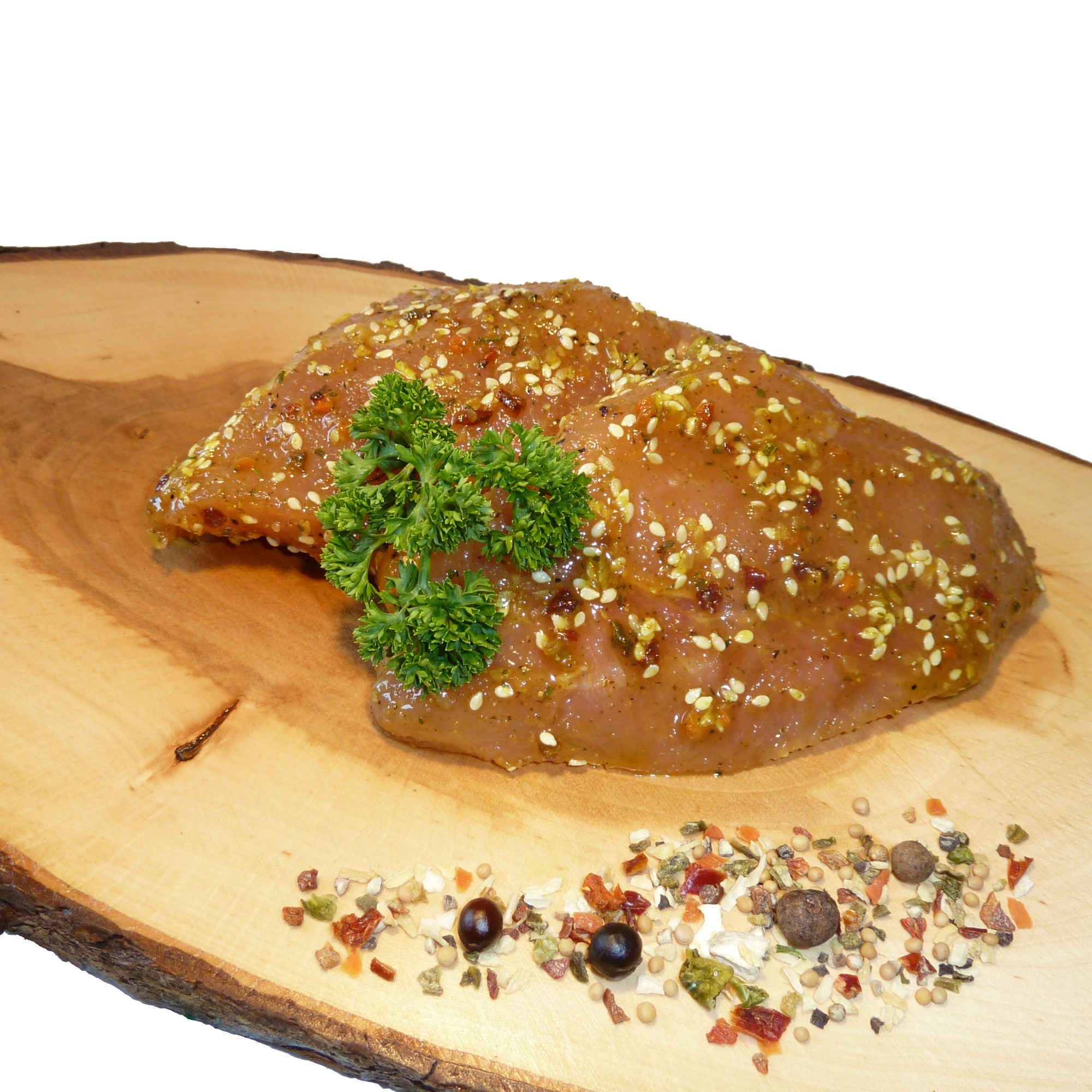 Puten Currymedaillon