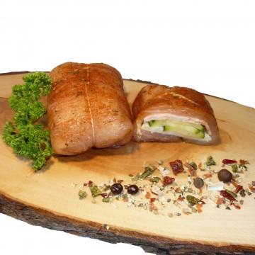 Puten Roulade (Zucchini)